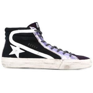Golden Goose Deluxe Brand Purple Slide' Hi-Tops